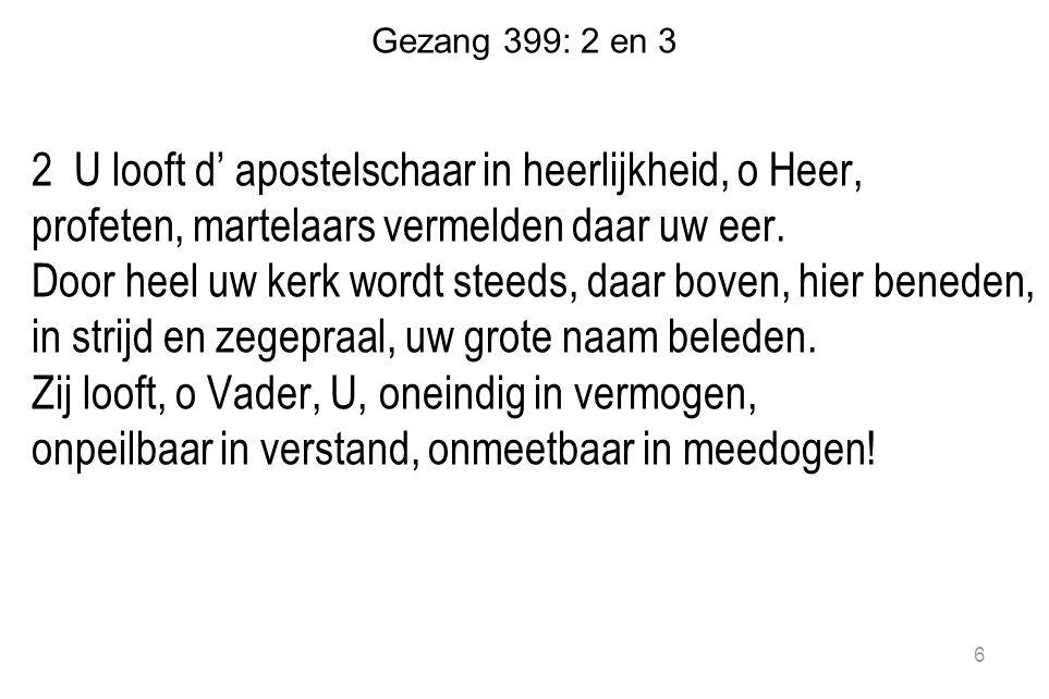 Gezang 399: 2 en 3