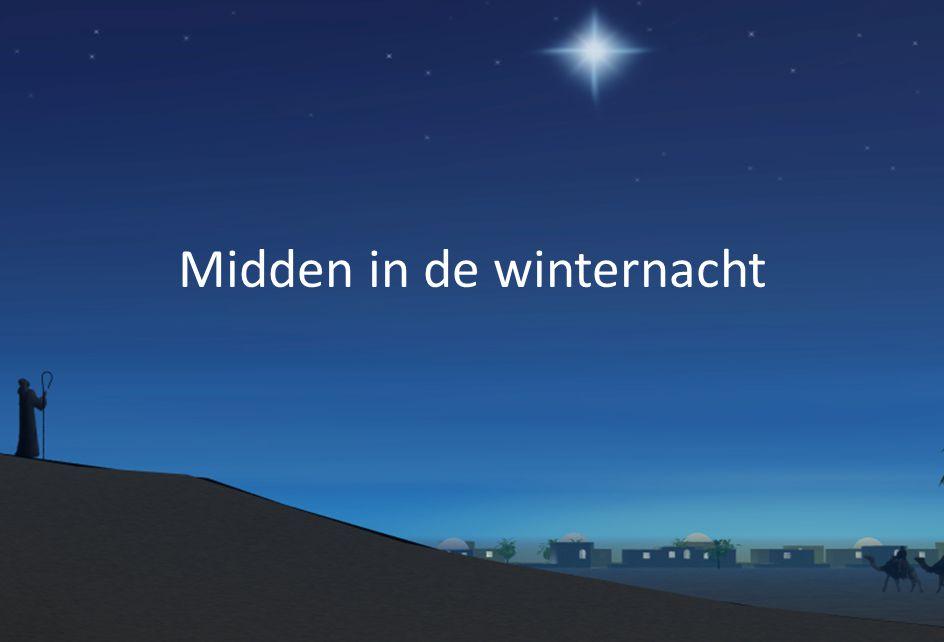 Midden in de winternacht