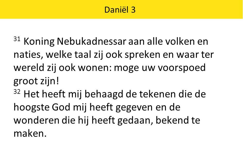 Daniël 3