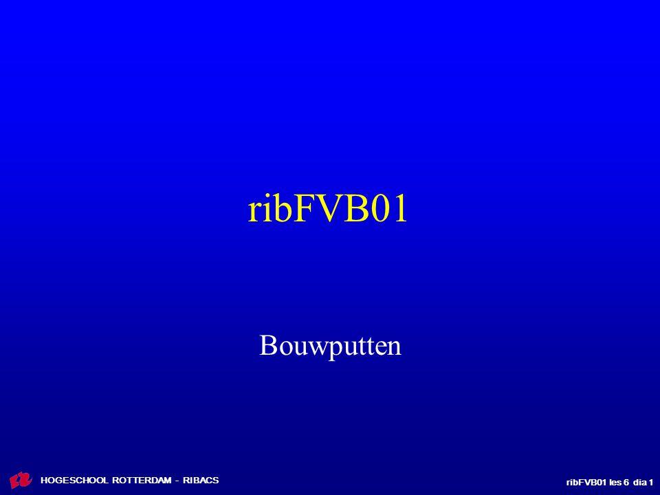 ribFVB01 Bouwputten