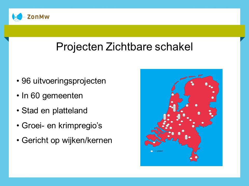 Projecten Zichtbare schakel