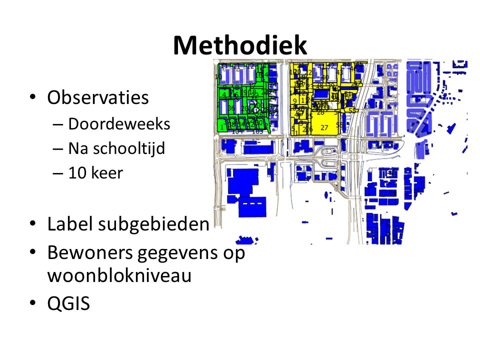 Methodiek Observaties Label subgebieden