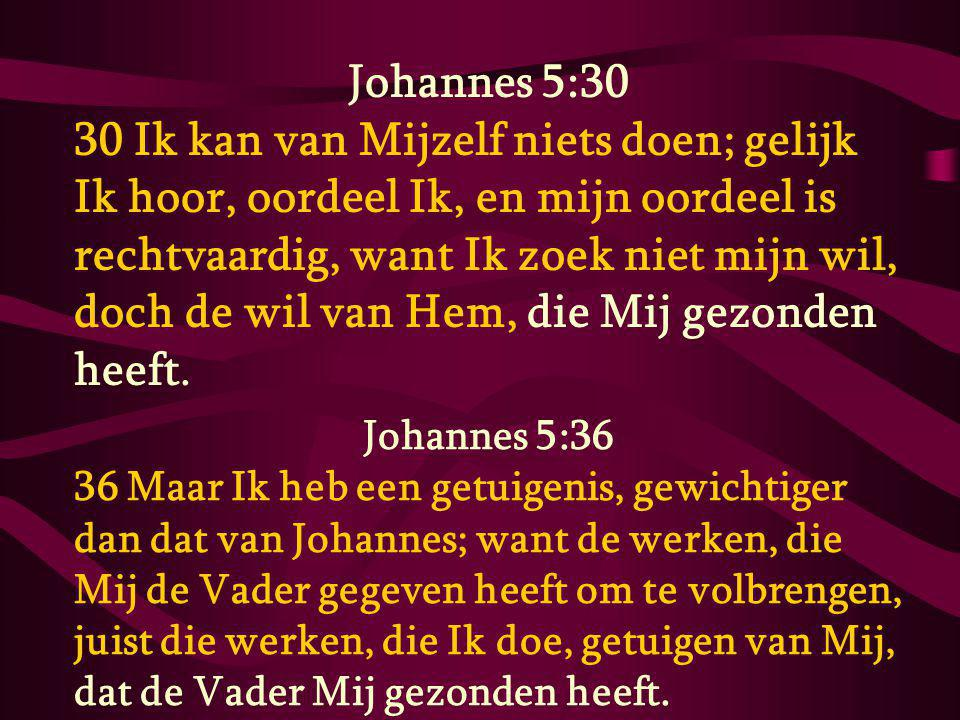 Johannes 5:30