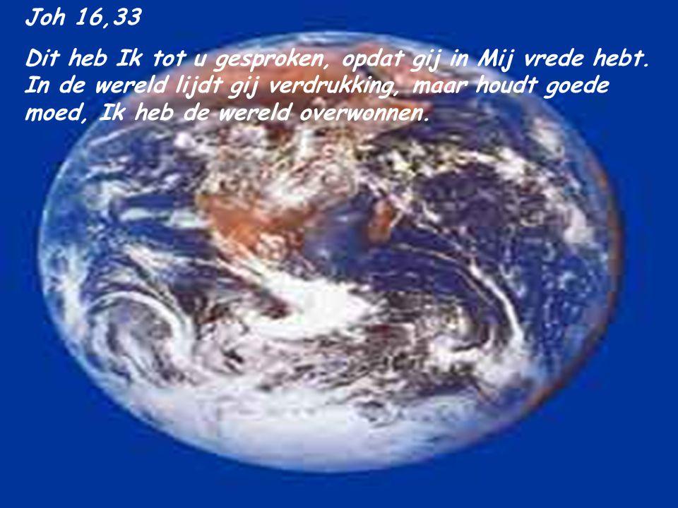 Joh 16,33