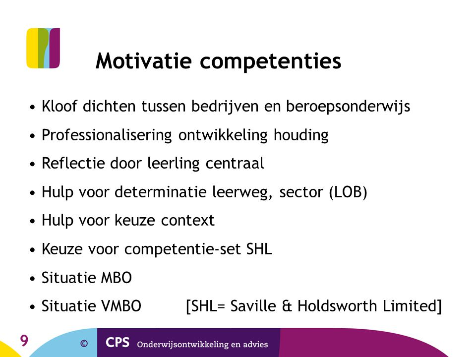 Motivatie competenties