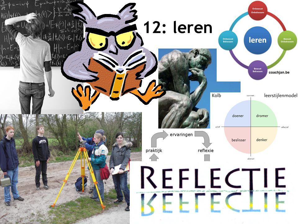 12: leren