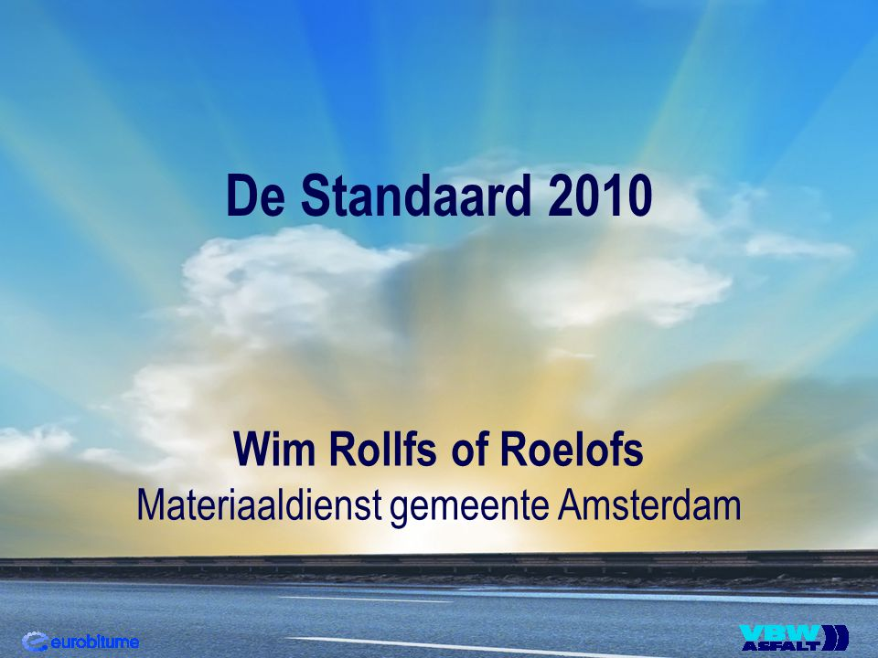 Materiaaldienst gemeente Amsterdam