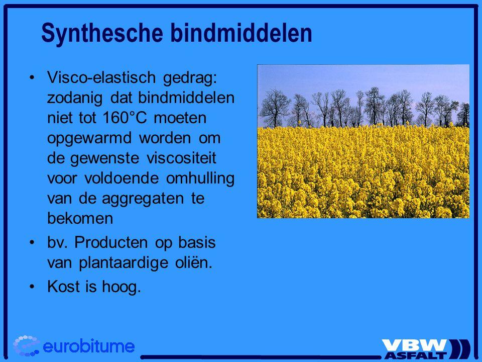 Synthesche bindmiddelen