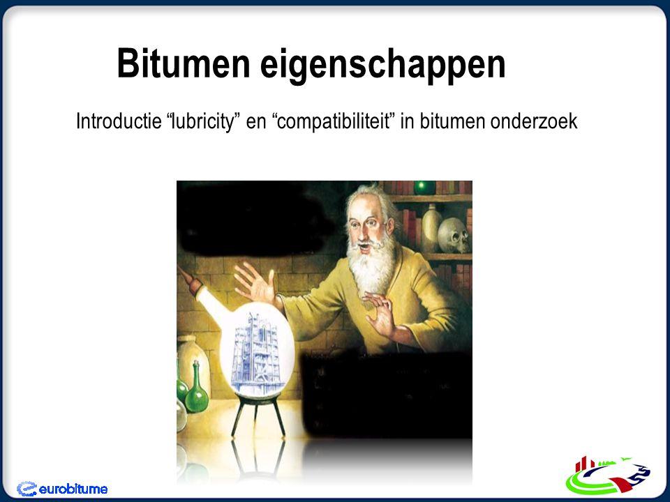 Bitumen eigenschappen
