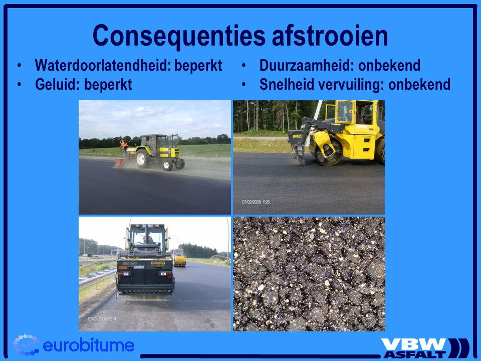 Consequenties afstrooien