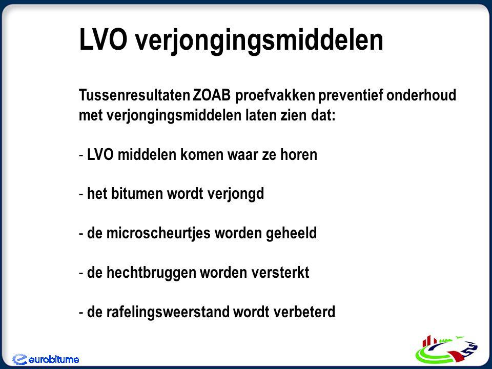 LVO verjongingsmiddelen