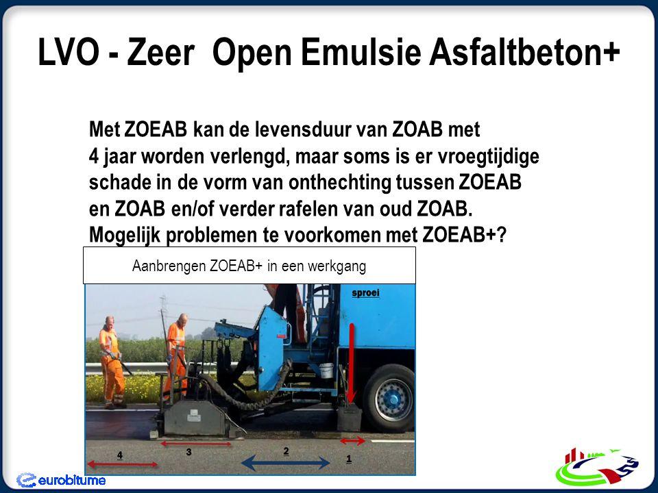 LVO - Zeer Open Emulsie Asfaltbeton+
