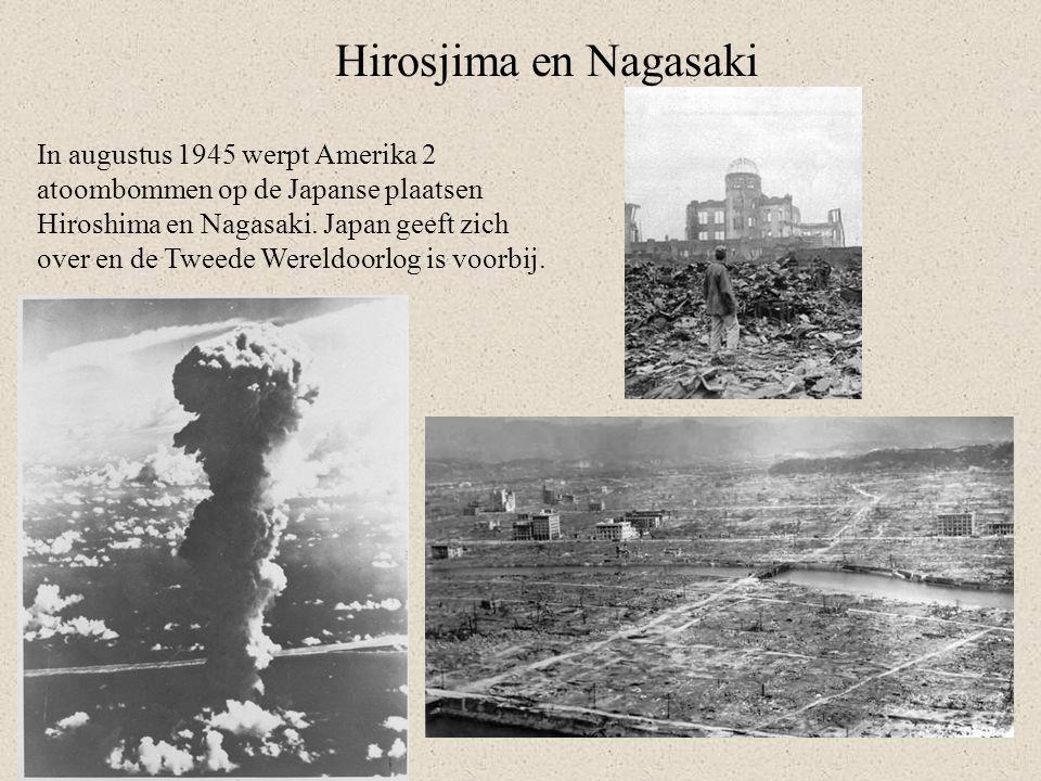 Hirosjima en Nagasaki