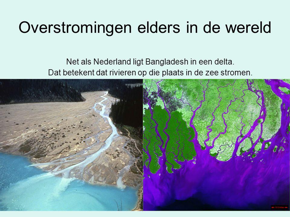 Overstromingen elders in de wereld