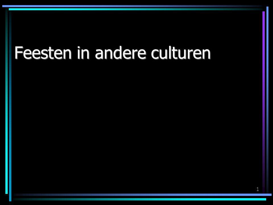 Feesten in andere culturen