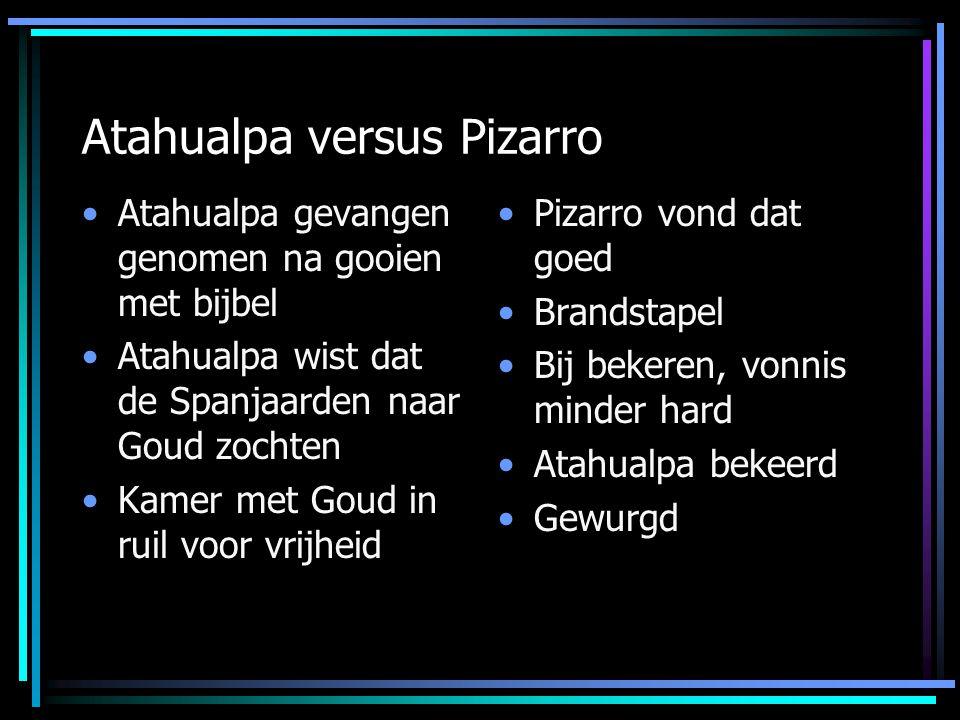 Atahualpa versus Pizarro
