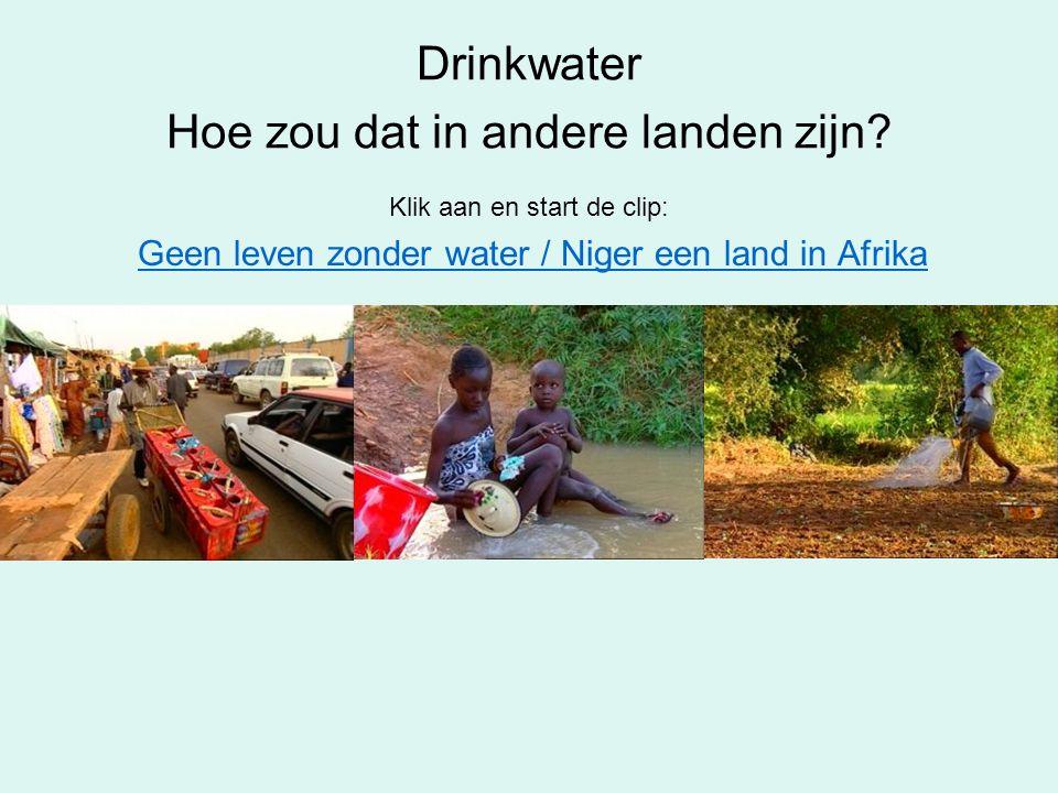 Drinkwater Hoe zou dat in andere landen zijn
