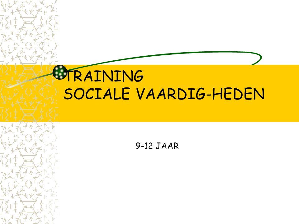 TRAINING SOCIALE VAARDIG-HEDEN