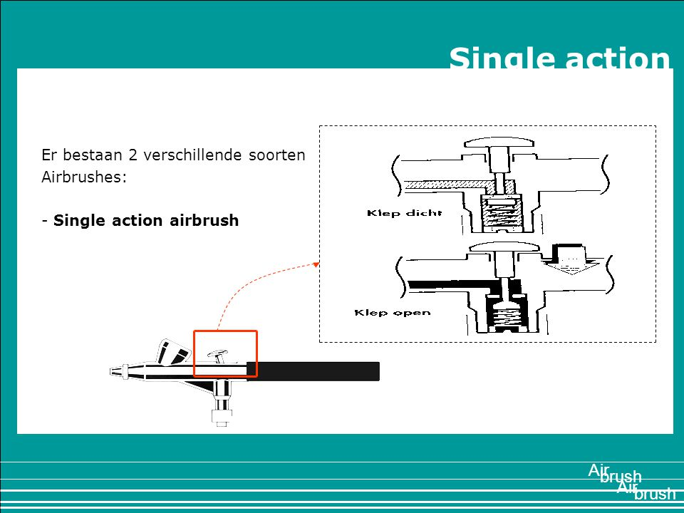 Single action 1897 Air brush Air brush