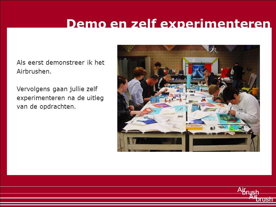 Demo en zelf experimenteren