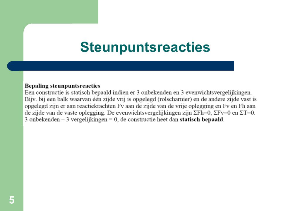 Steunpuntsreacties