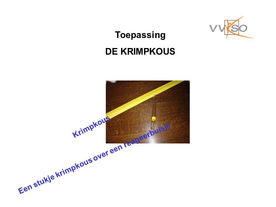Toepassing DE KRIMPKOUS