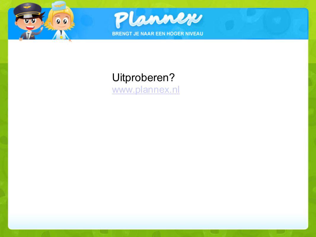 Uitproberen www.plannex.nl