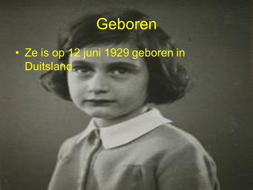 Geboren Ze is op 12 juni 1929 geboren in Duitsland.