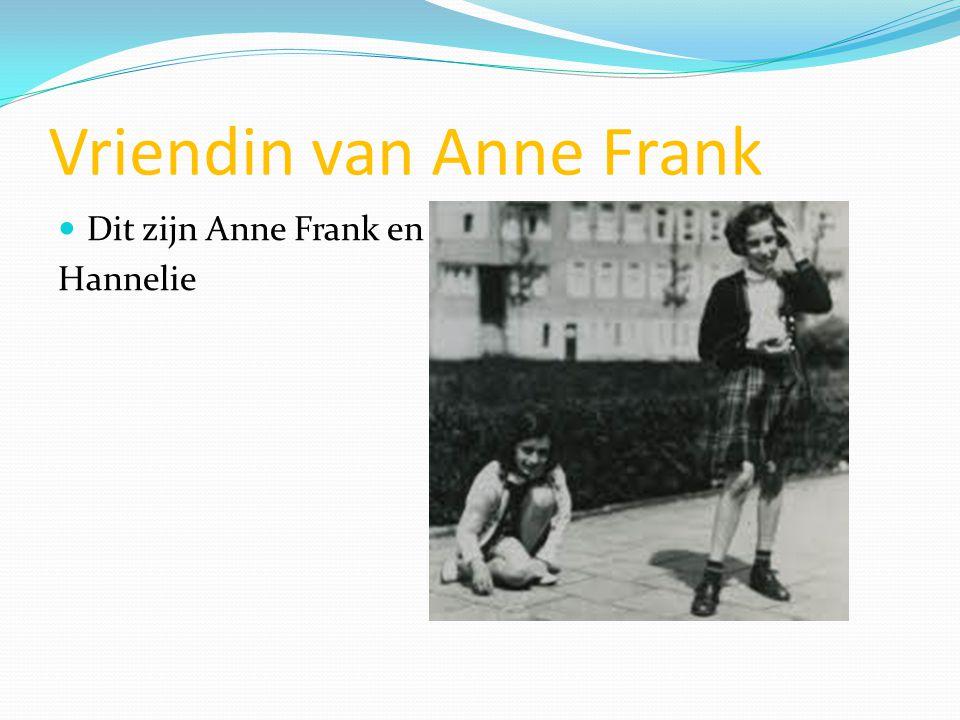 Vriendin van Anne Frank
