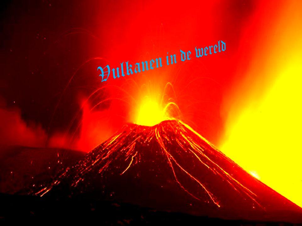 Vulkanen in de wereld