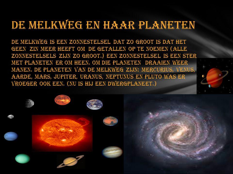 De Melkweg en Haar planeten
