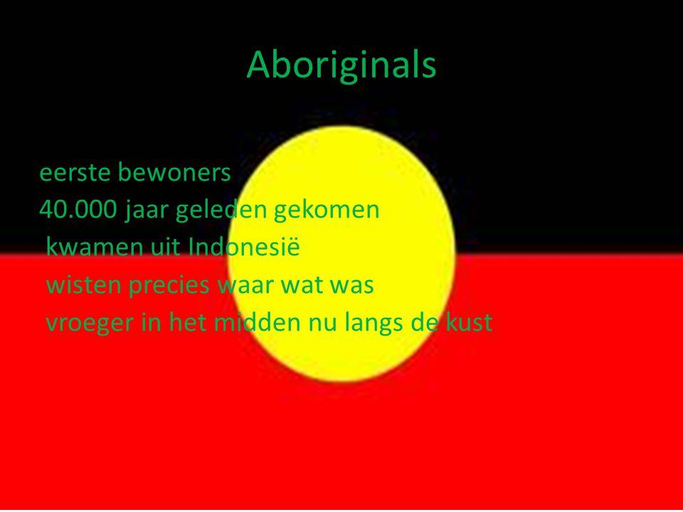 Aboriginals eerste bewoners 40.000 jaar geleden gekomen
