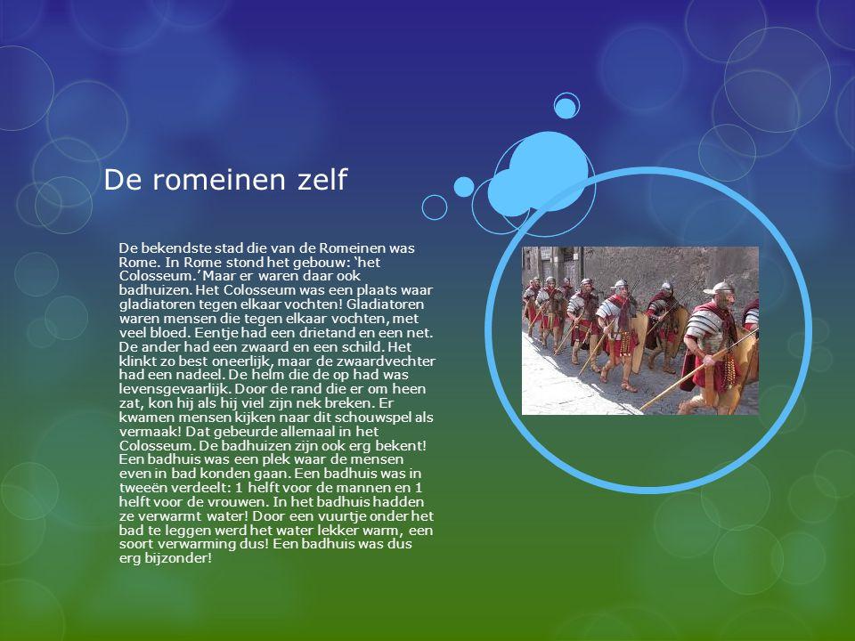 De romeinen zelf