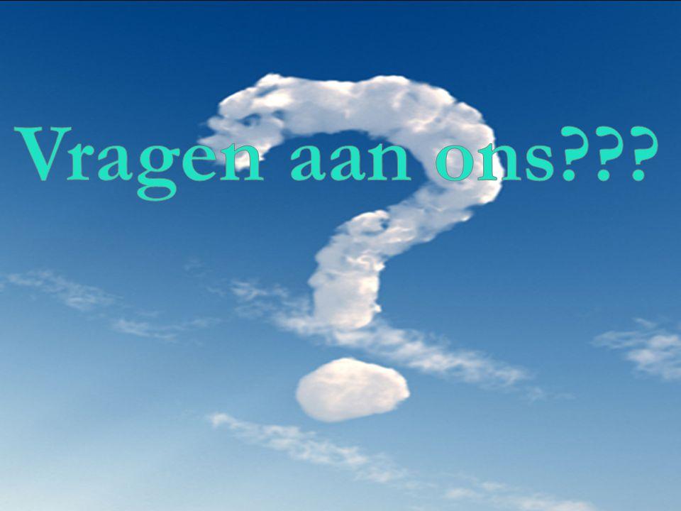 Vragen aan ons