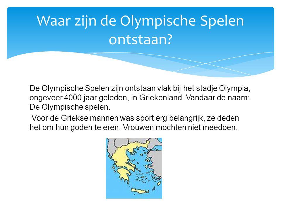 Waar zijn de Olympische Spelen ontstaan