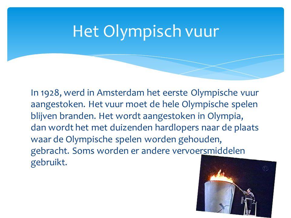 Het Olympisch vuur