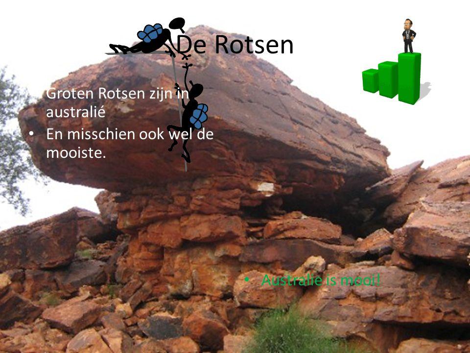 De Rotsen Groten Rotsen zijn in australié