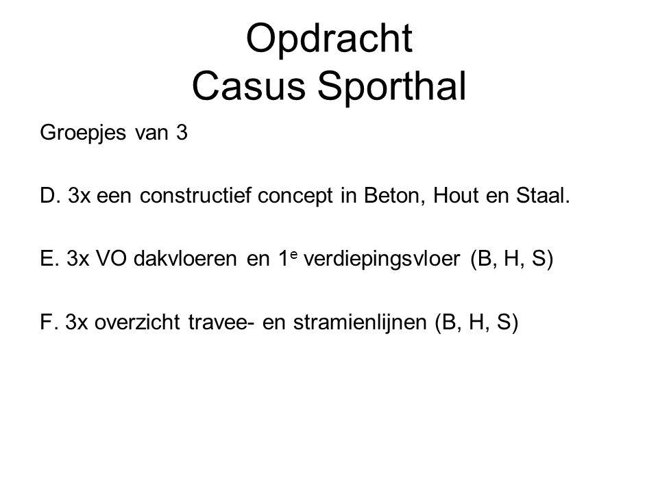Opdracht Casus Sporthal