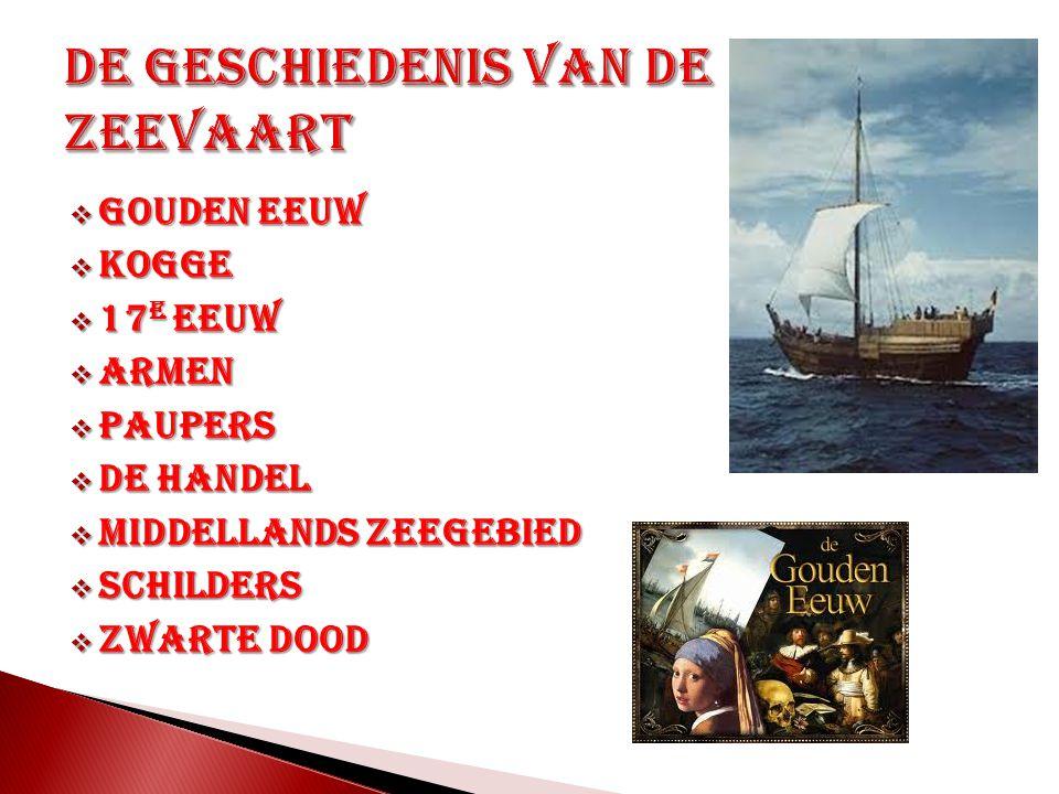 De geschiedenis van de zeevaart