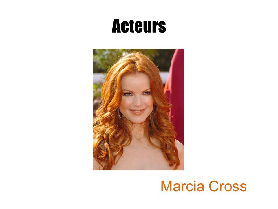 Acteurs Marcia Cross