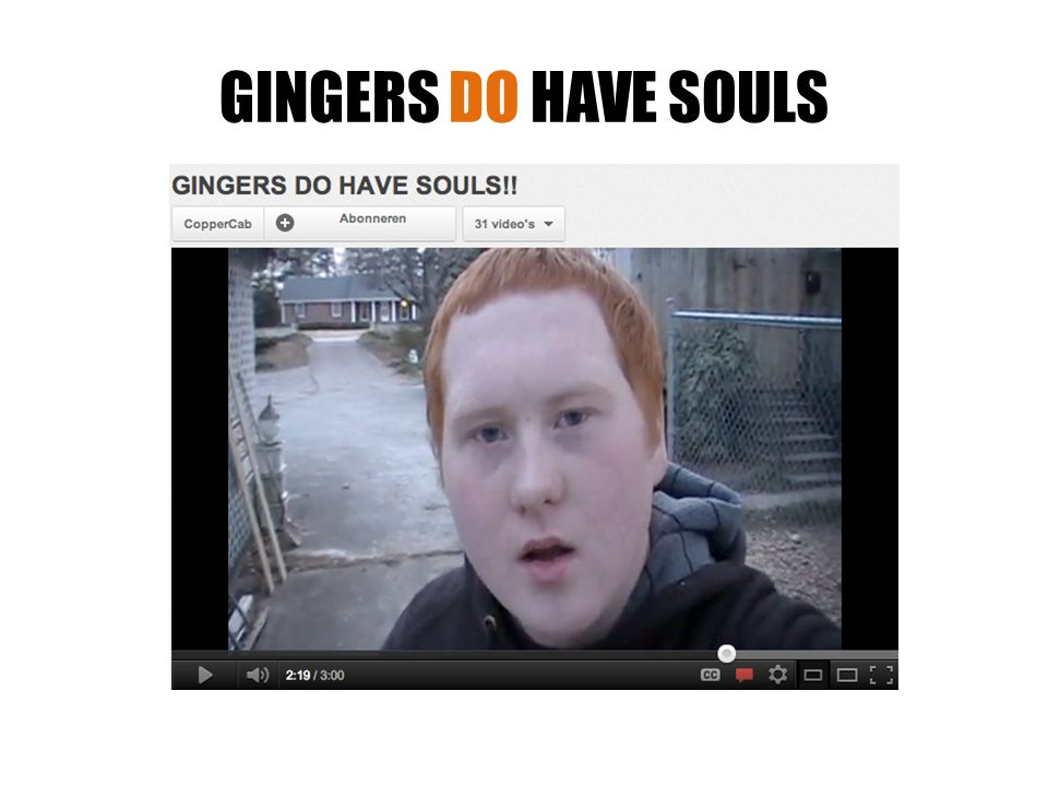 GINGERS DO HAVE SOULS