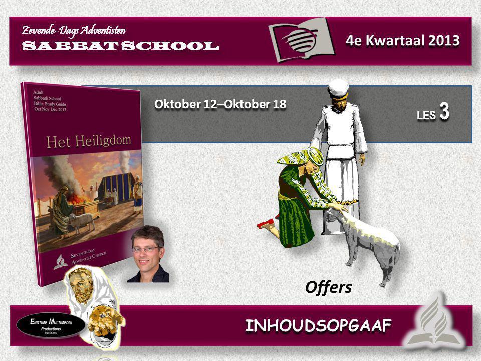 Offers 4e Kwartaal 2013 INHOUDSOPGAAF Oktober 12–Oktober 18