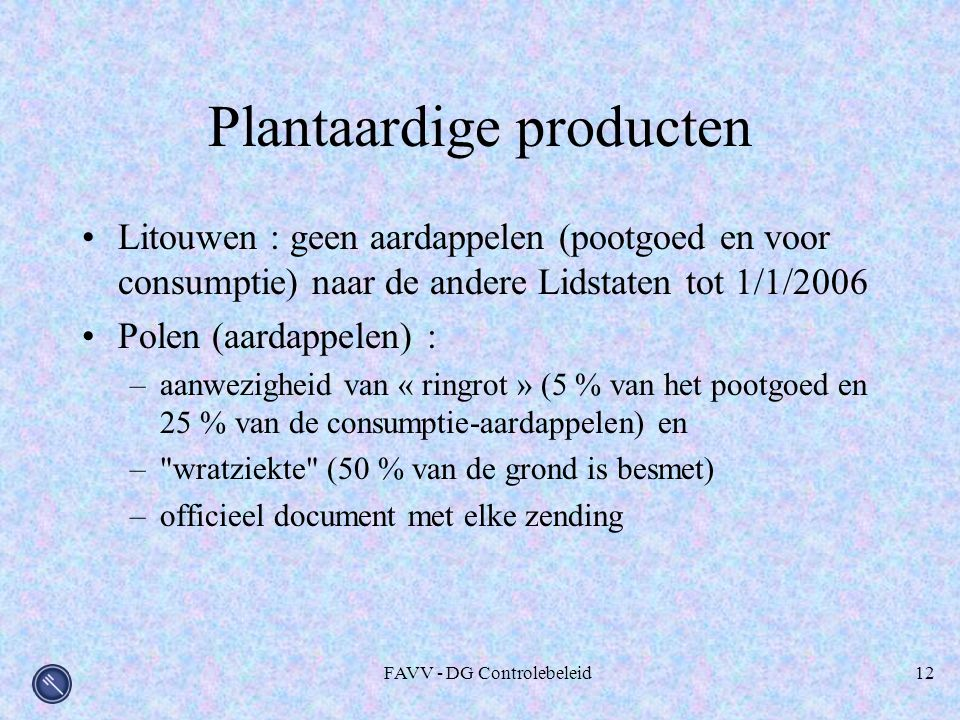 Plantaardige producten