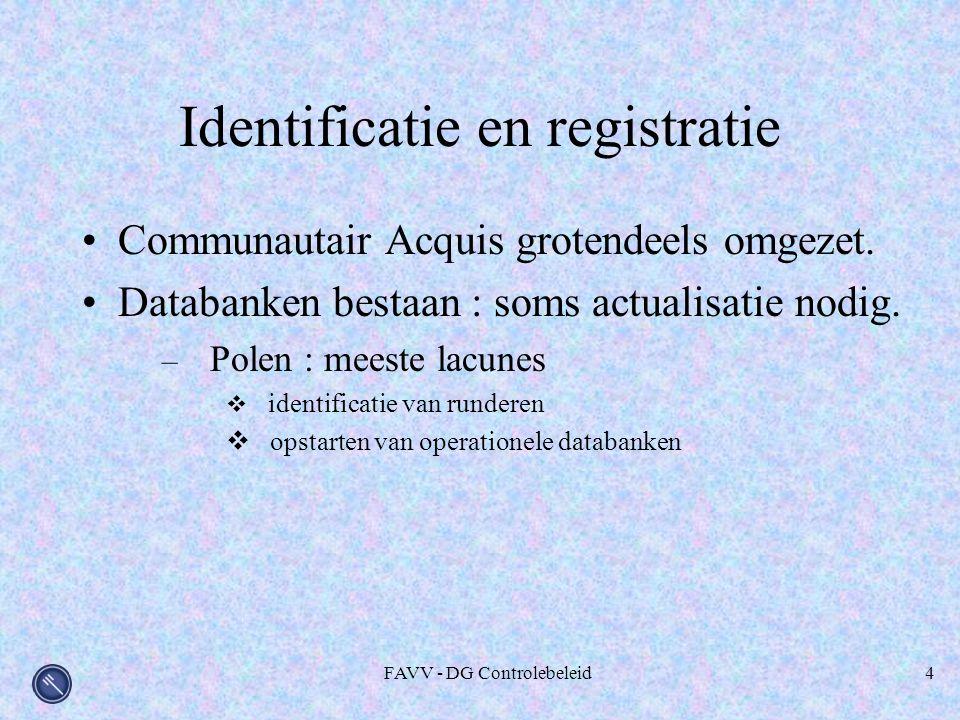Identificatie en registratie