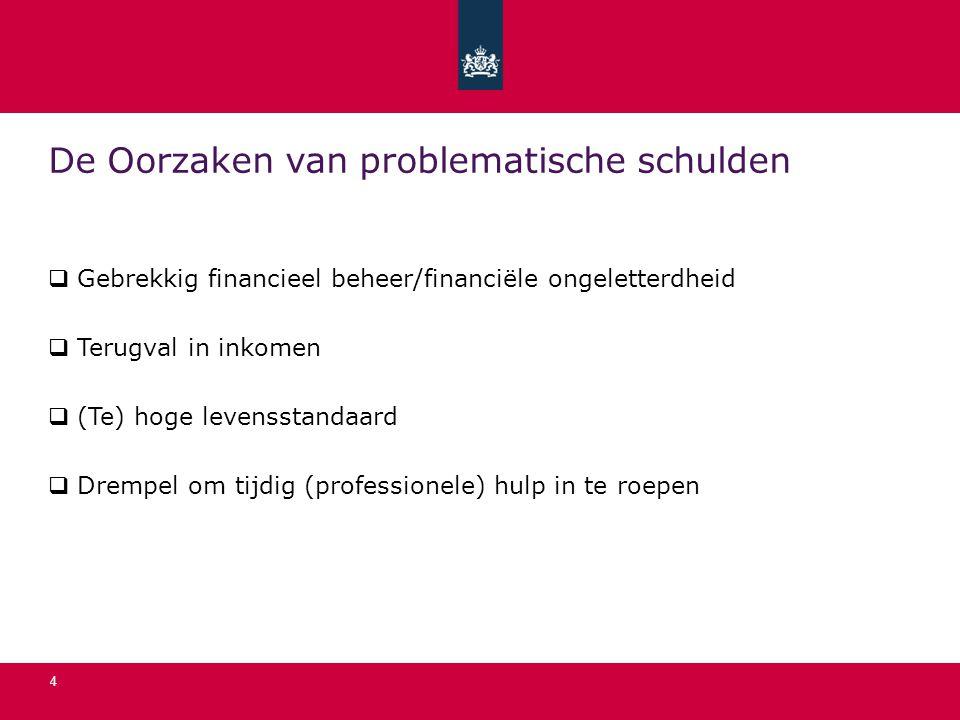 De Oorzaken van problematische schulden