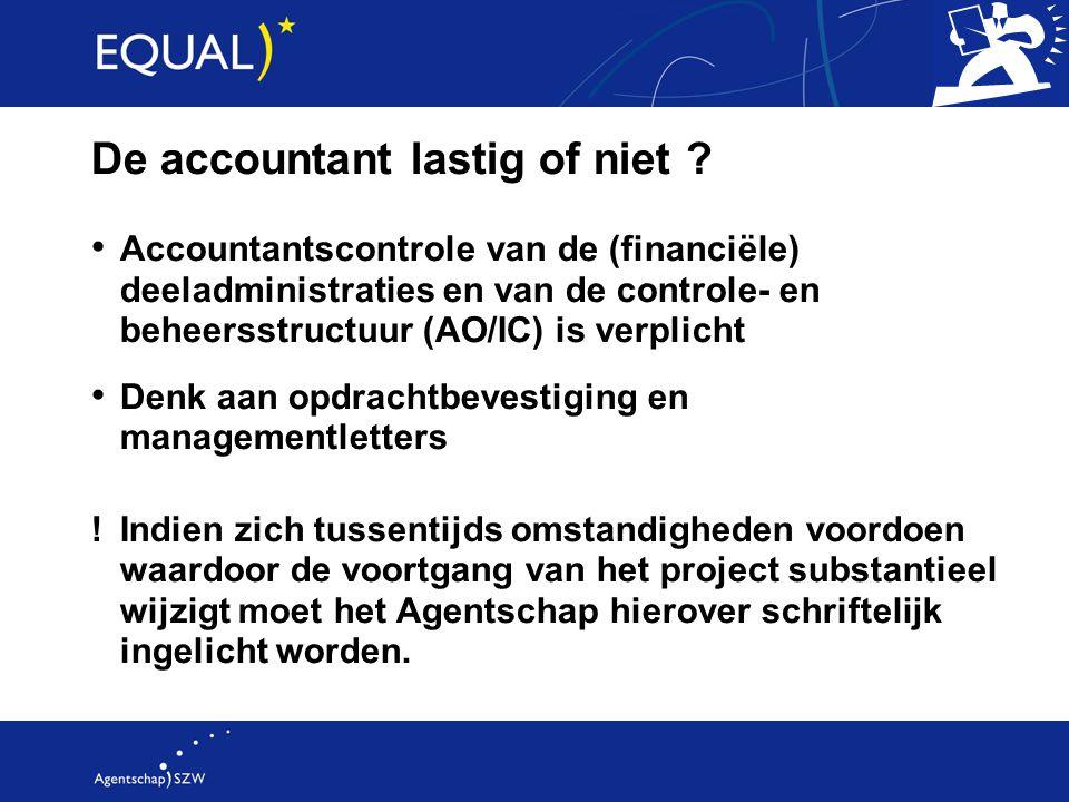 De accountant lastig of niet
