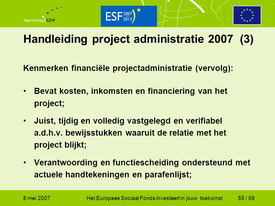 Handleiding project administratie 2007 (3)