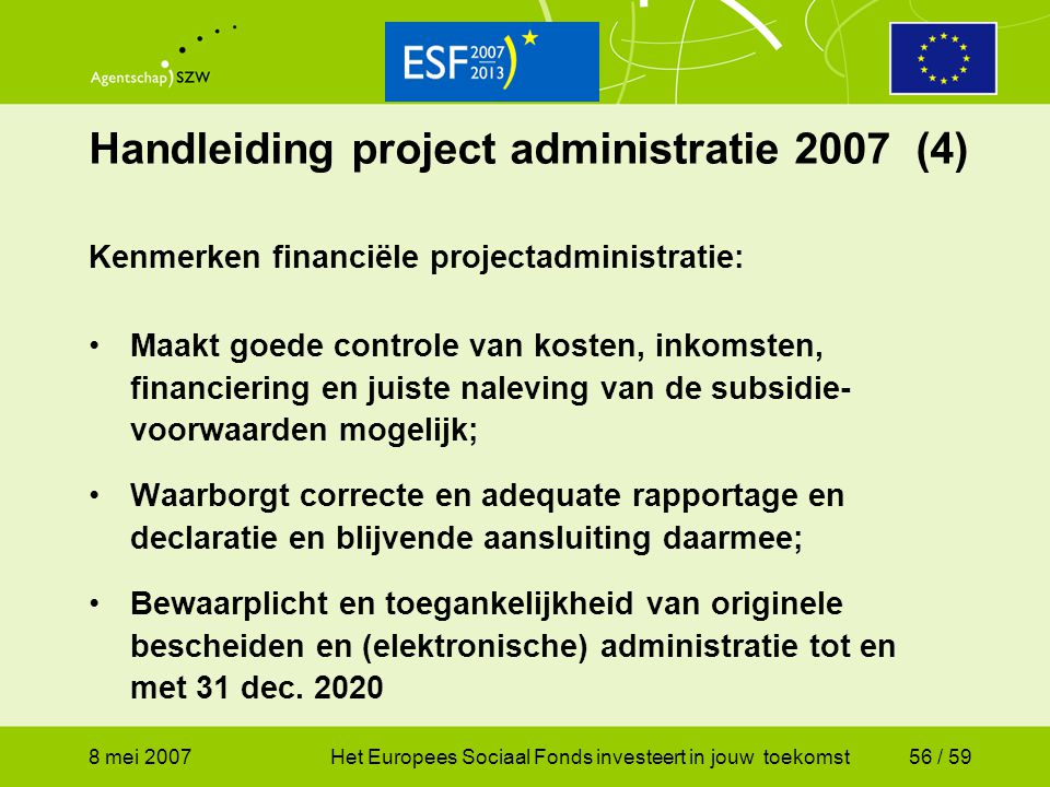 Handleiding project administratie 2007 (4)