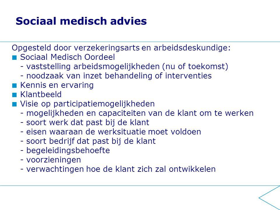 Sociaal medisch advies