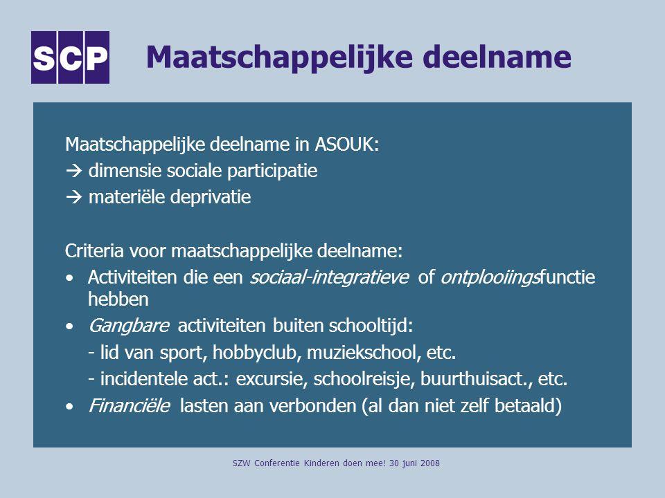 Maatschappelijke deelname